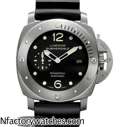 沛納海 Panerai LUMINOR SUBMERSIBLE 1950 3 DAYS AUTOMATIC TITANIO PAM00571 Pam571 钛殼-rhid-118049