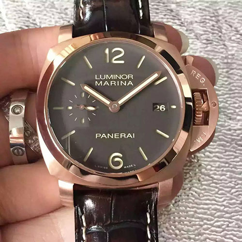 沛納海 Panerai Luminor Marina系列pam393F2 搭載1950系列P.9000自動機芯