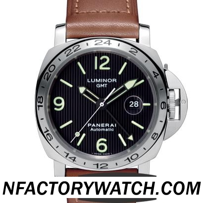 沛納海 Panerai LUMINOR GMT Pam00029/Pam029  316F不鏽鋼錶殼 升級版