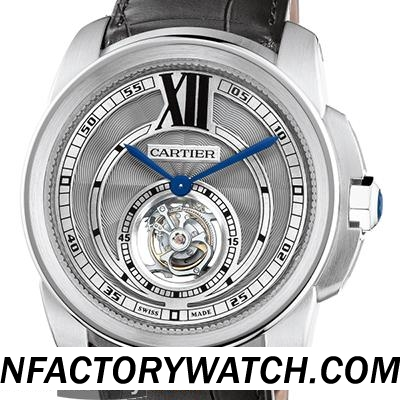 卡地亞Cartier CALIBRE DE CARTIER W7100003 陀飛輪